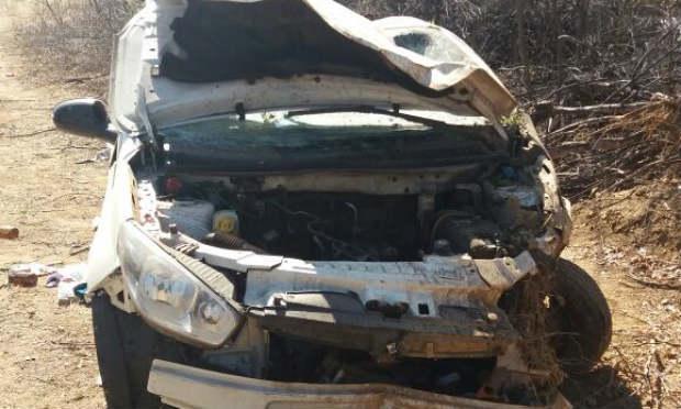 Acidente aconteceu na BR-232 em Salgueiro / Foto: Divulgação/ PRF
