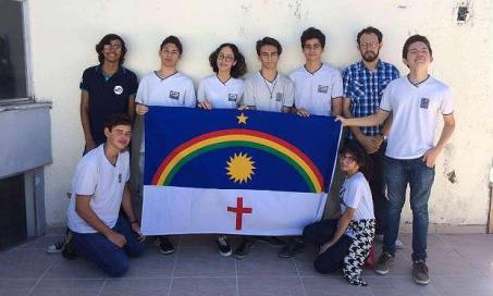 A maior parte da delegação pernambucana estuda na Escola de Aplicação do Recife / Foto: cortesia