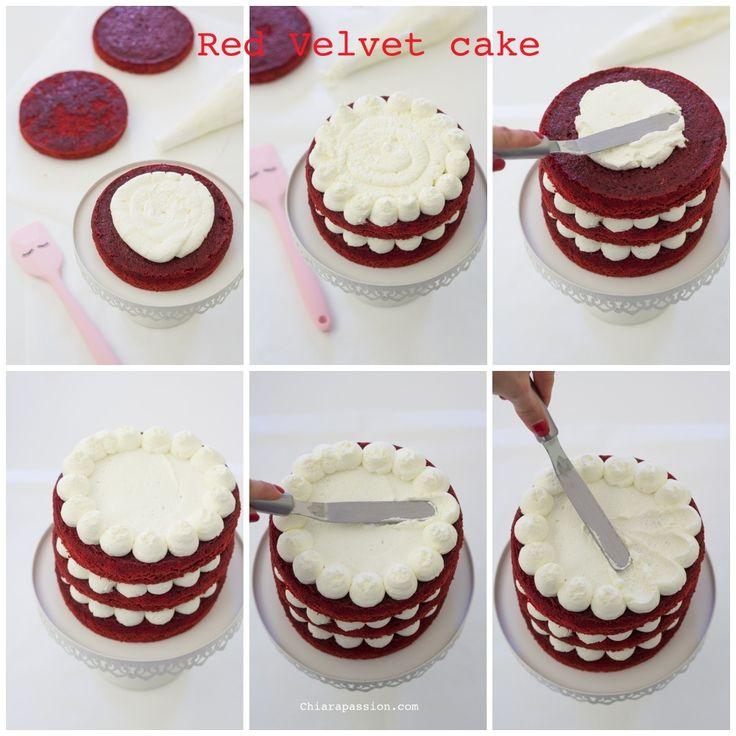 """O bolo Red Velvet é uma sobremesa americana que traduzida significa """"bolo de veludo ..."""