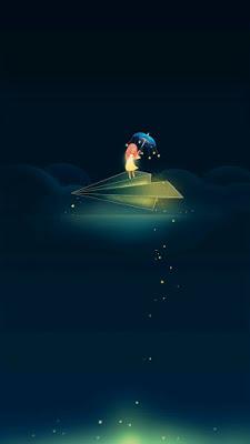 Voando a noite