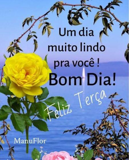 Bom Dia Terça-Feira Abençoada para facebook