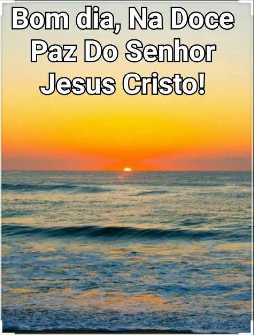 Bom Dia Com Cristo Jesus