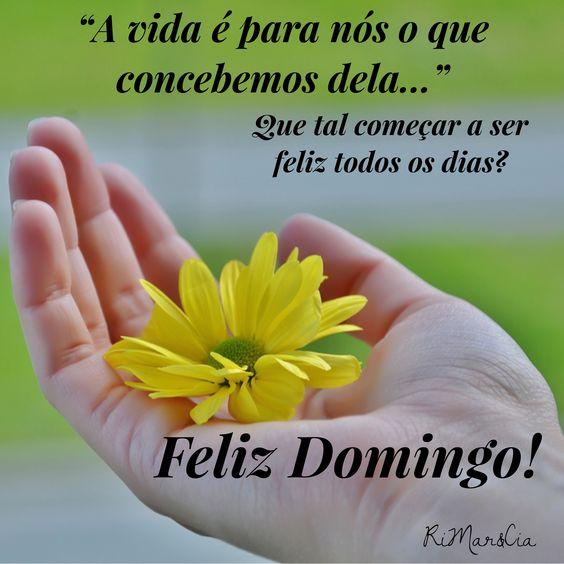 Imagens de Bom Dia Domingo para refletir