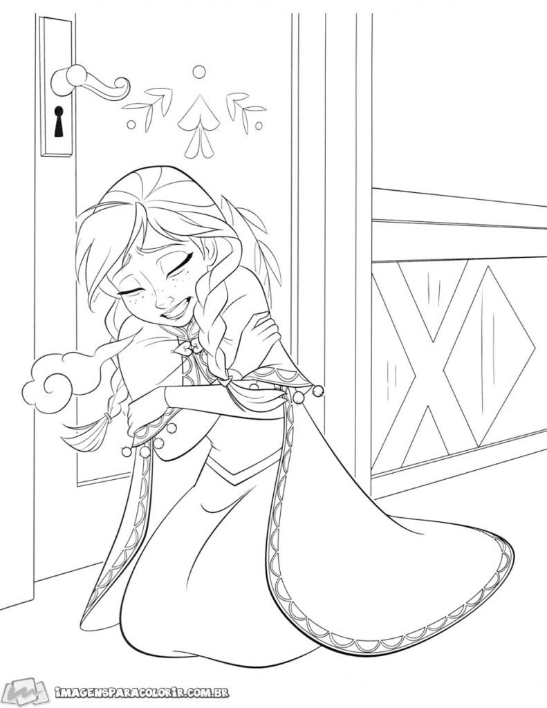 Anna com frio