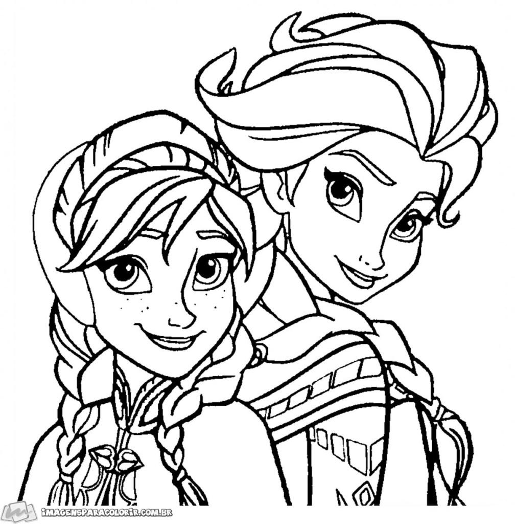 Ana e Elsa juntas