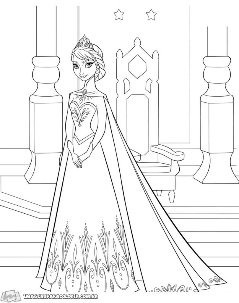 Elsa no trono