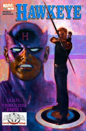 Portada Comic hawkeye vol 3