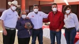 Entrega Sedesol apoyos en Cuauhtémoc y Ojocaliente