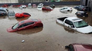 [FOTOS] Las impactantes imágenes de las inundaciones en Metepec
