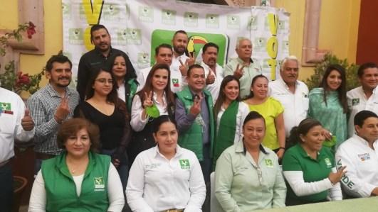 Elecciones Zacatecas 2021: Respalda dirigencia nacional del PVEM a Jorge Miranda