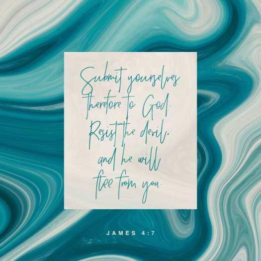 James 4:7 ESV