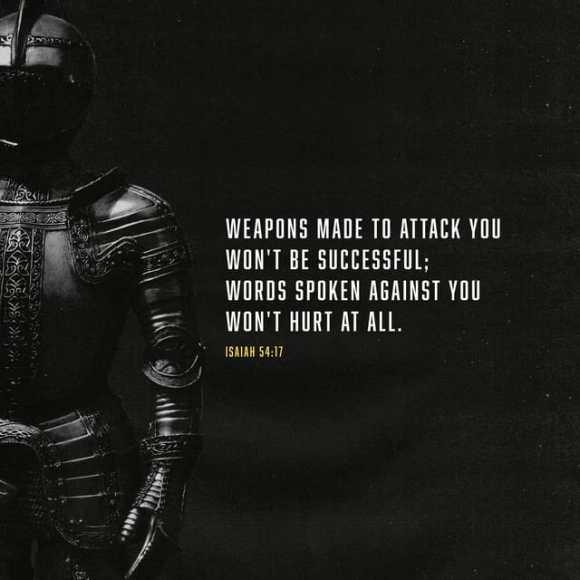 Isaiah 54:17 CEV