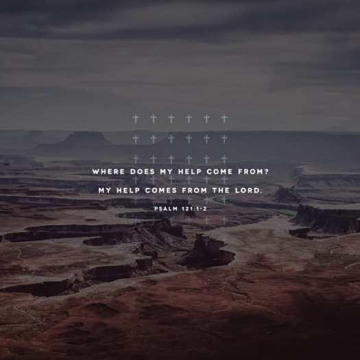 Psalm 121:1-2 NIV