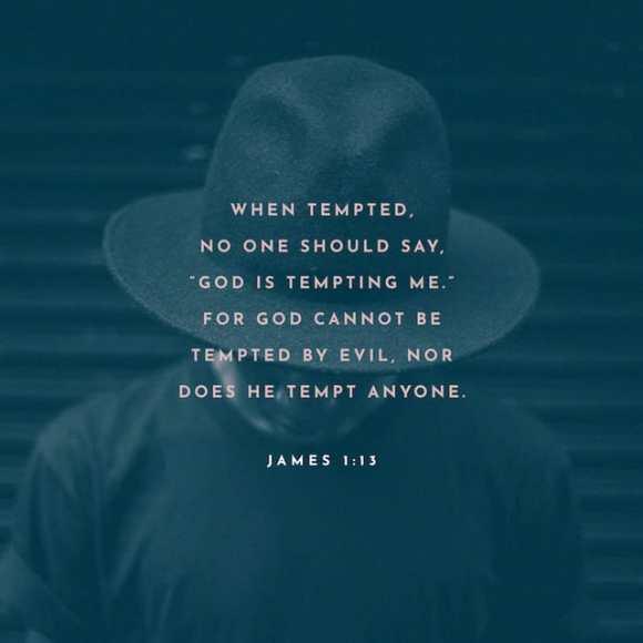 James 1:13 NIV