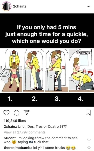 If You Only Had 5 Mins Just Enough Time For A Quickie Which One