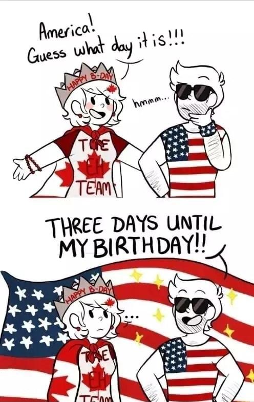 Three Days Until My Birthday