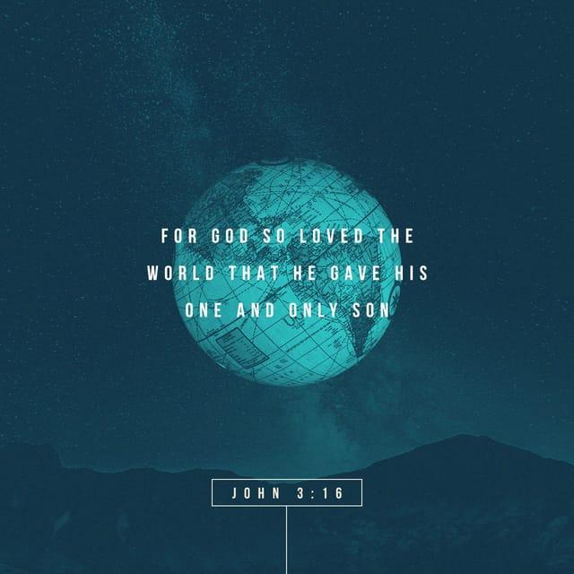 John 3:16 - https://www.bibl...