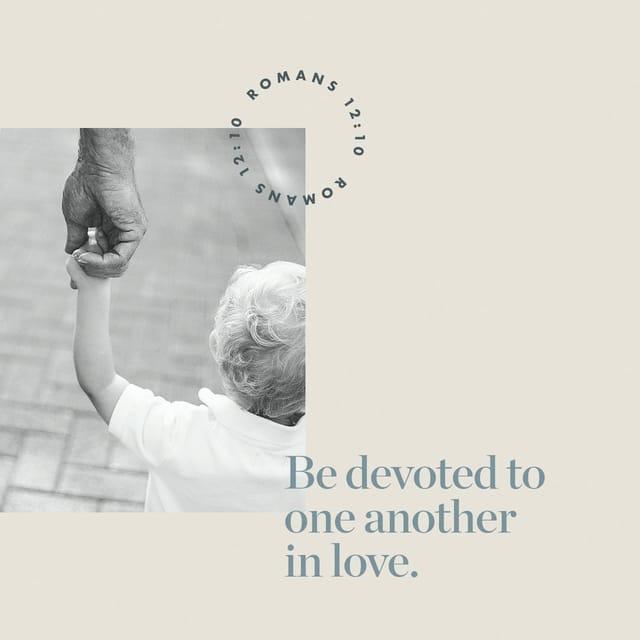 Romans 12:10 - https://www.bibl...