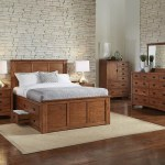 Aamerica Mission Hill Queen Captain S Bed With Storage Drawers Conlin S Furniture Captain S Beds