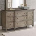 American Drew Savona Stockholm 9 Drawer Dresser Wayside Furniture Dressers