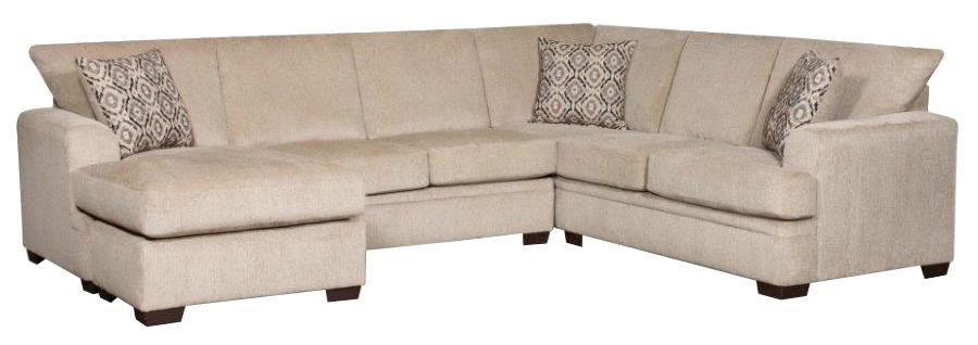 6800 sectional sofa with left side chaise
