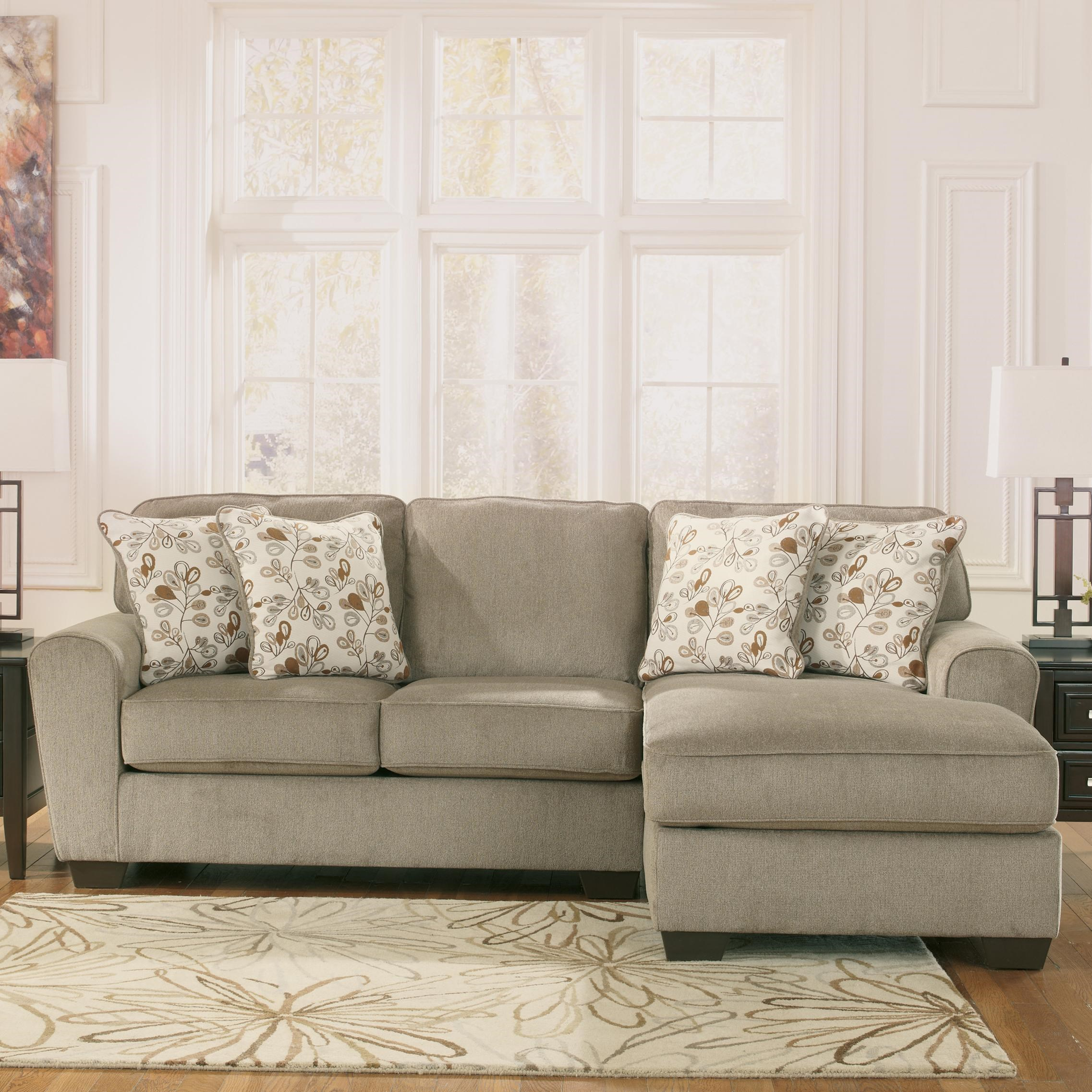 ashley furniture patola park patina 2 piece sectional with right chaise household furniture sectional sofas