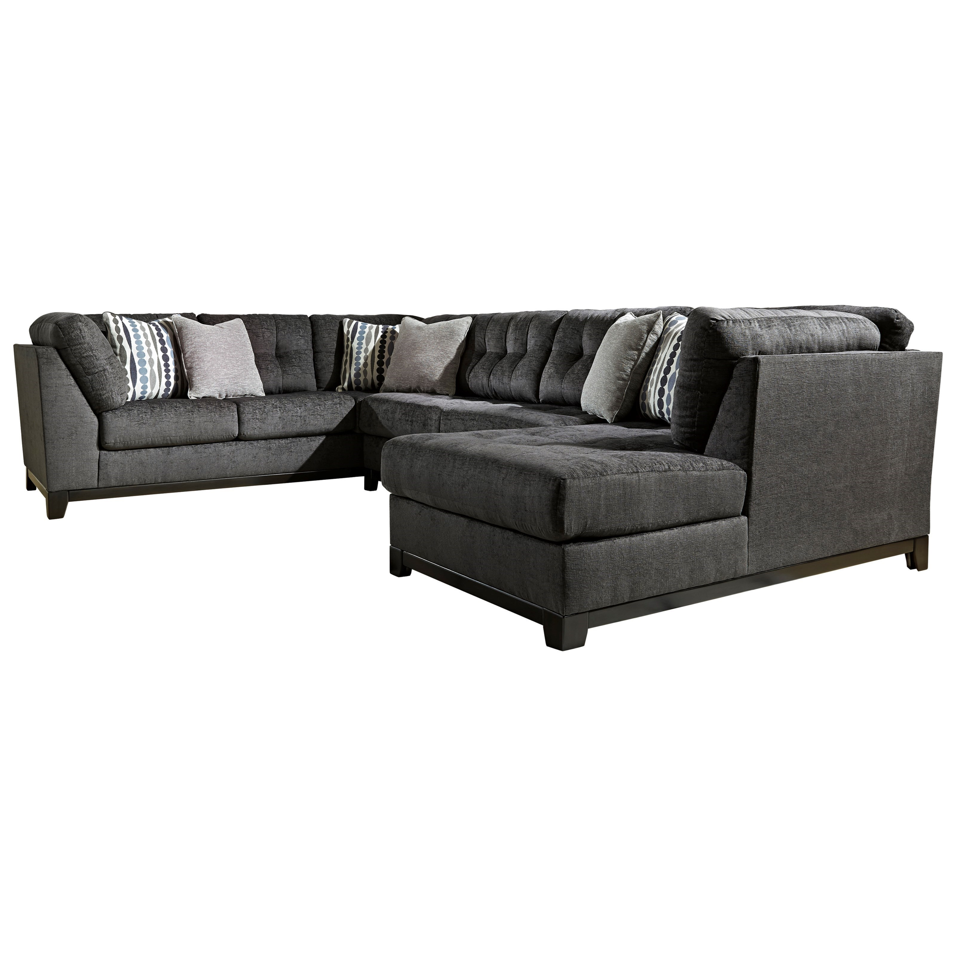 reidshire sectional sofa with right side chaise