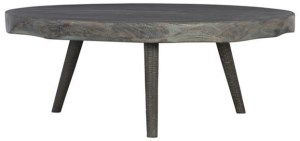 tomas rustic round wood cocktail table