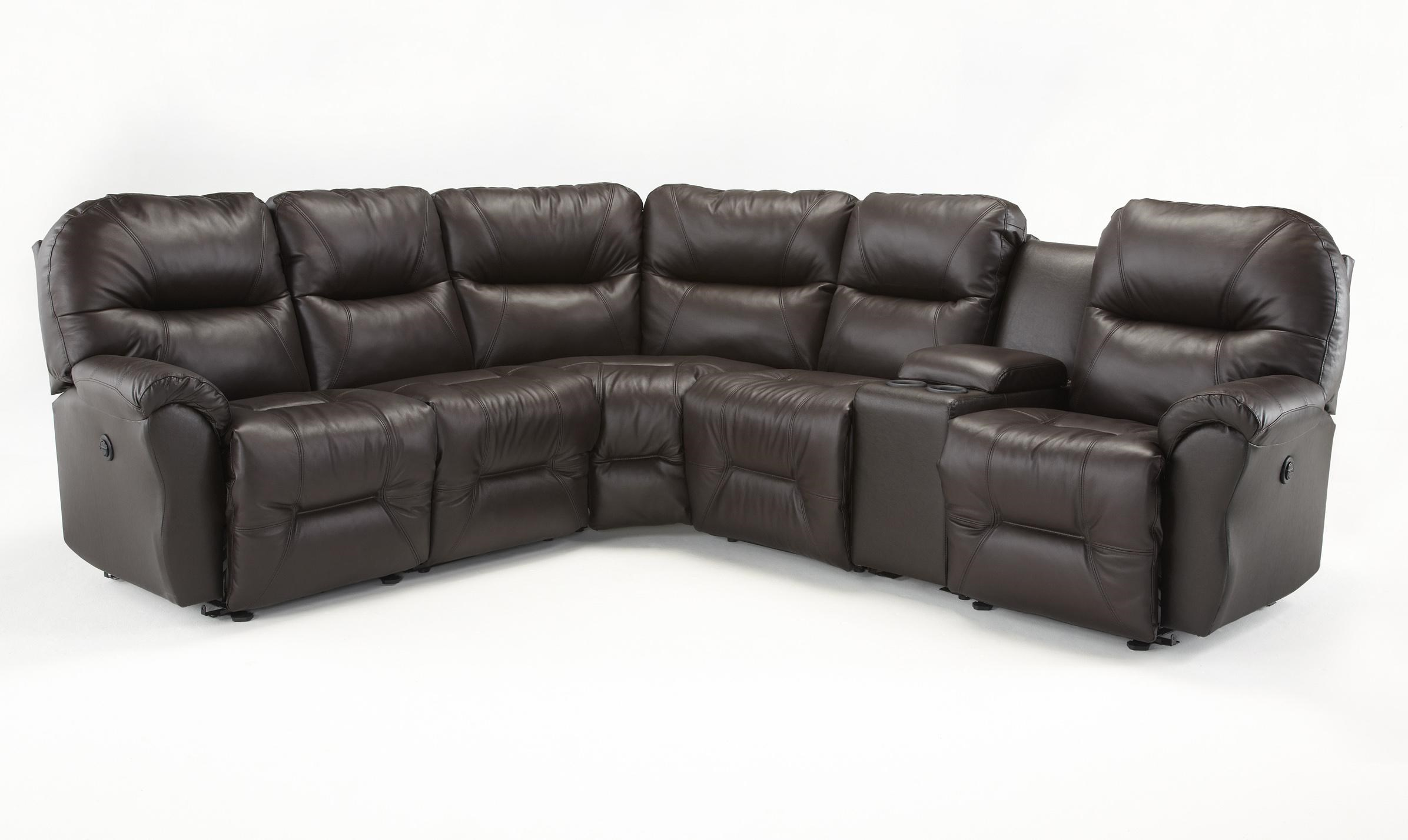 bodie 6 pc reclining sectional sofa