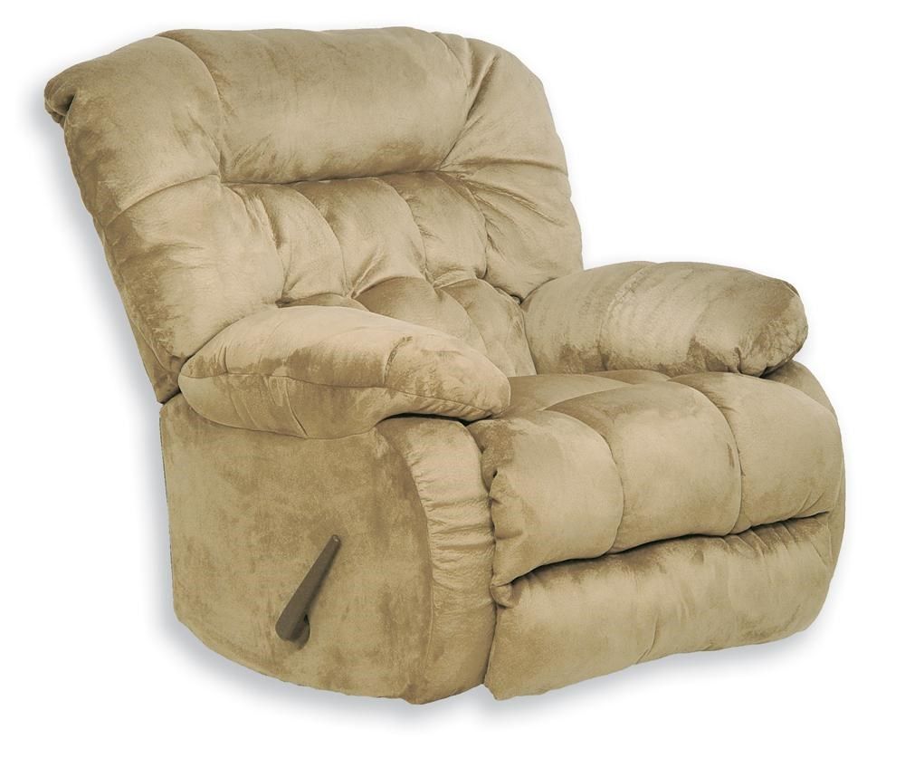 Catnapper Teddy Bear Chaise Rocker Recliner Turk