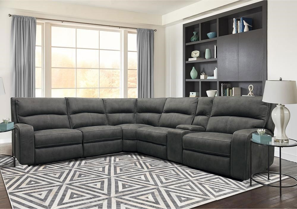 5168hm 6 piece power reclining sectional