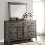 Legends Furniture Storehouse Collection Storehouse 6 Drawer Dresser And Mirror With Wood Frame Superstore Dresser Mirror Sets
