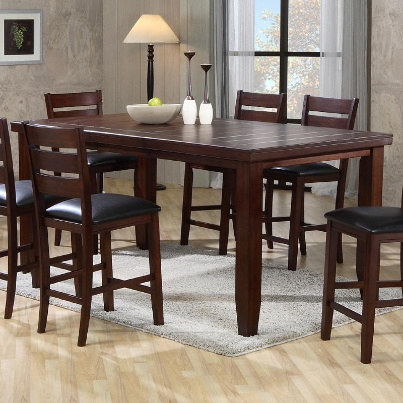 Counter Height Table With 18 Leaf Bardstown By Crown Mark Wilcox Furniture Pub Table