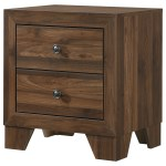 Crown Mark Millie B9250 2 Transitional 2 Drawer Nightstand