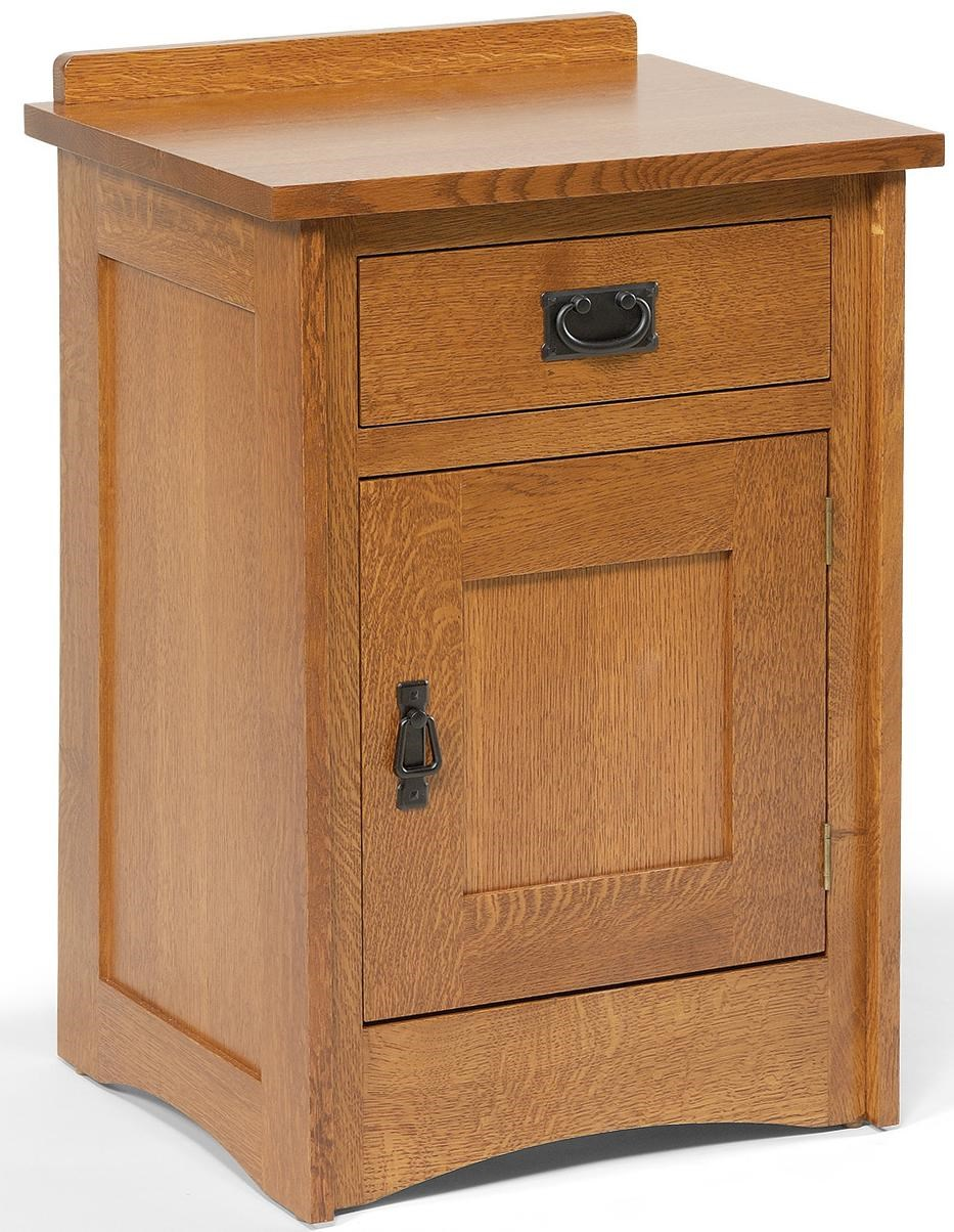 Daniel S Amish Mission 37 3171 1 Drawer Mission Style