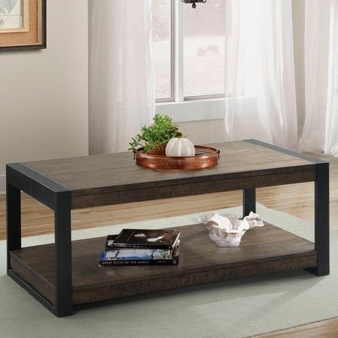 caesar industrial coffee table