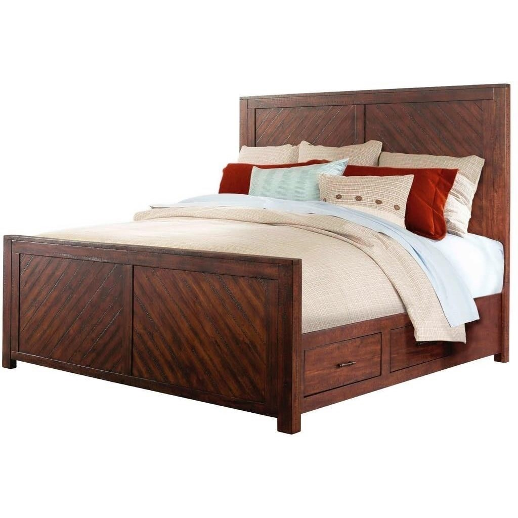 jax king storage bed