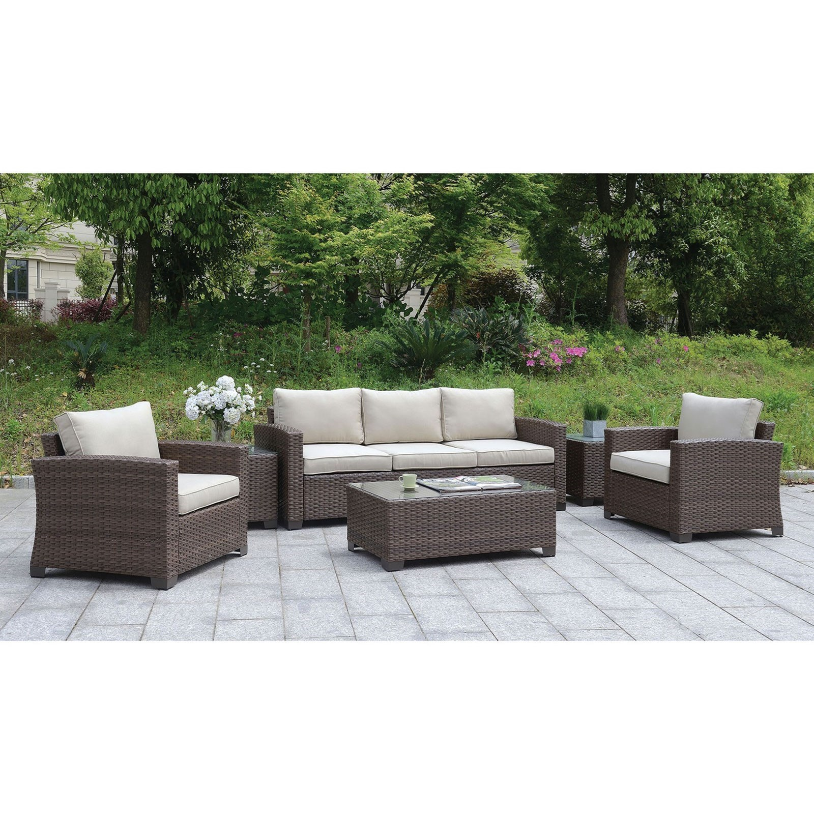 brindsmade outdoor sofa coffee table end tables set