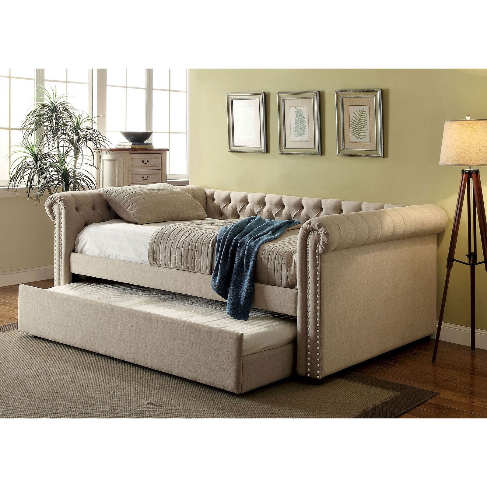 leanna full daybed w trundle