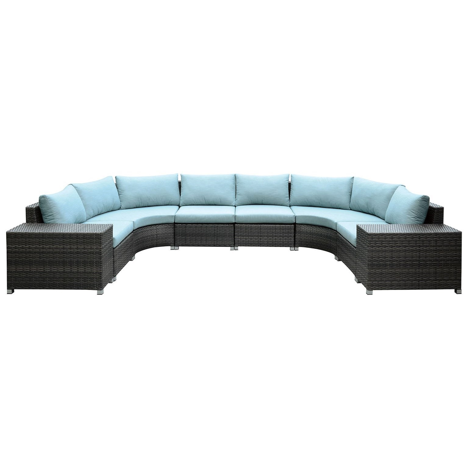 America Morgana Cm Os2121 Set1 U Shaped Sectional Del Sol