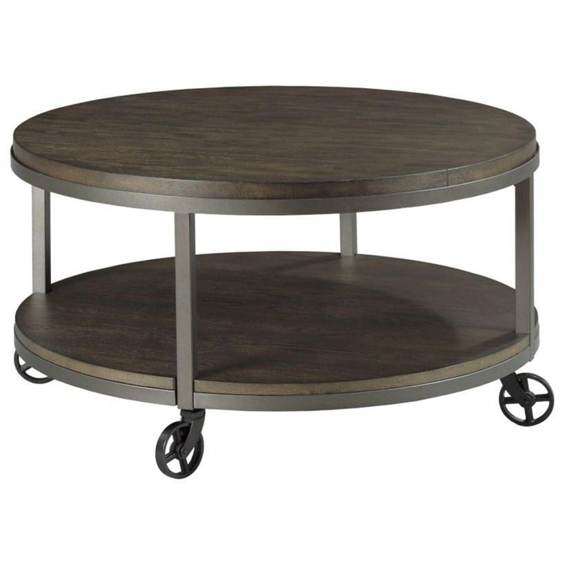 baja ii round cocktail table