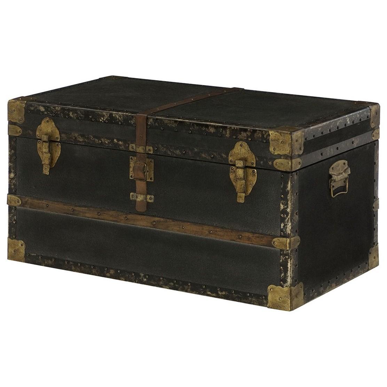 hidden treasures trunk cocktail table