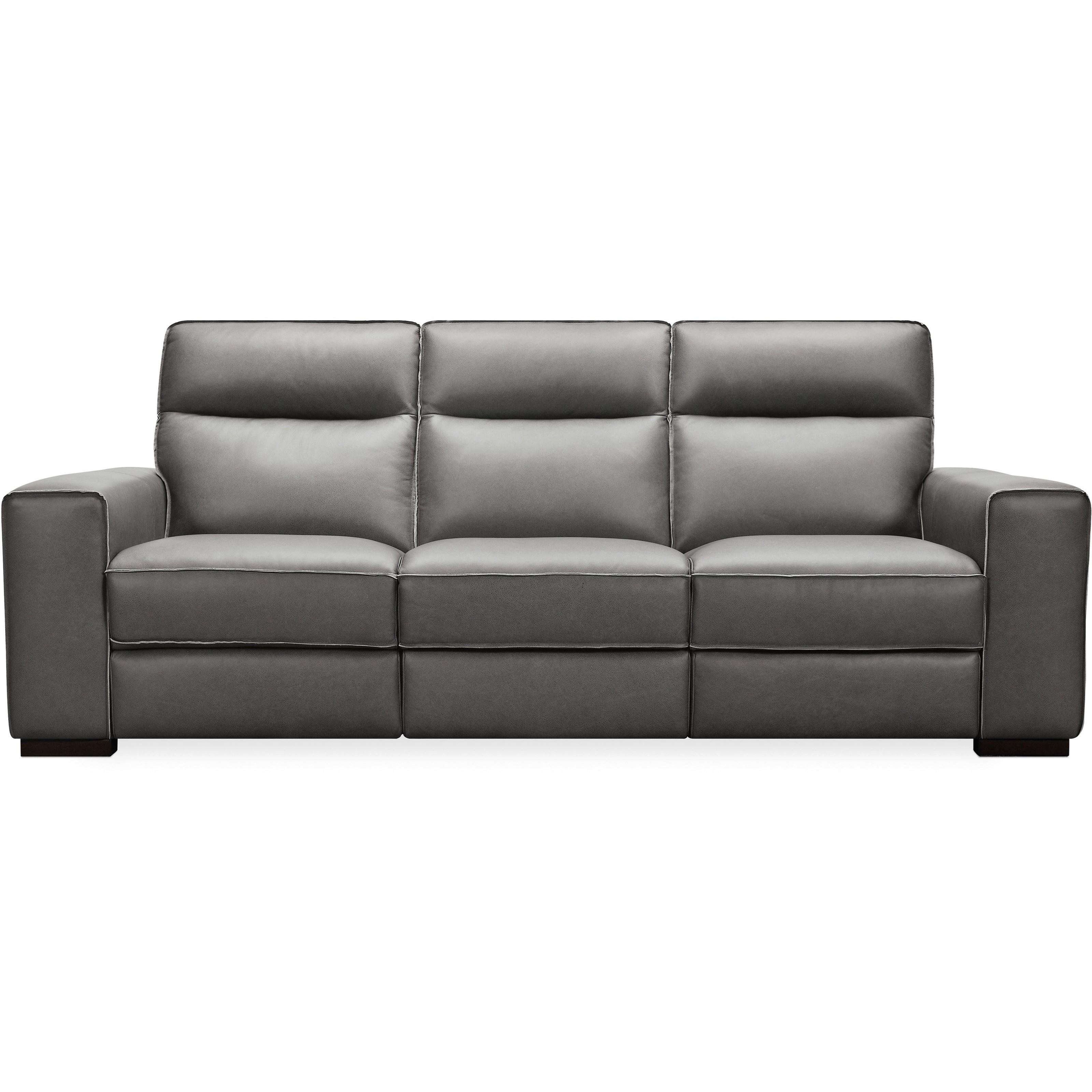 Braeburn Leather Power Reclining Sofa