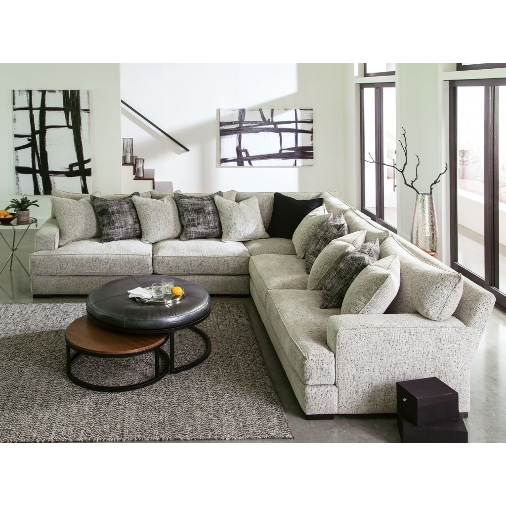 4 seat sectional sofa with deep seats