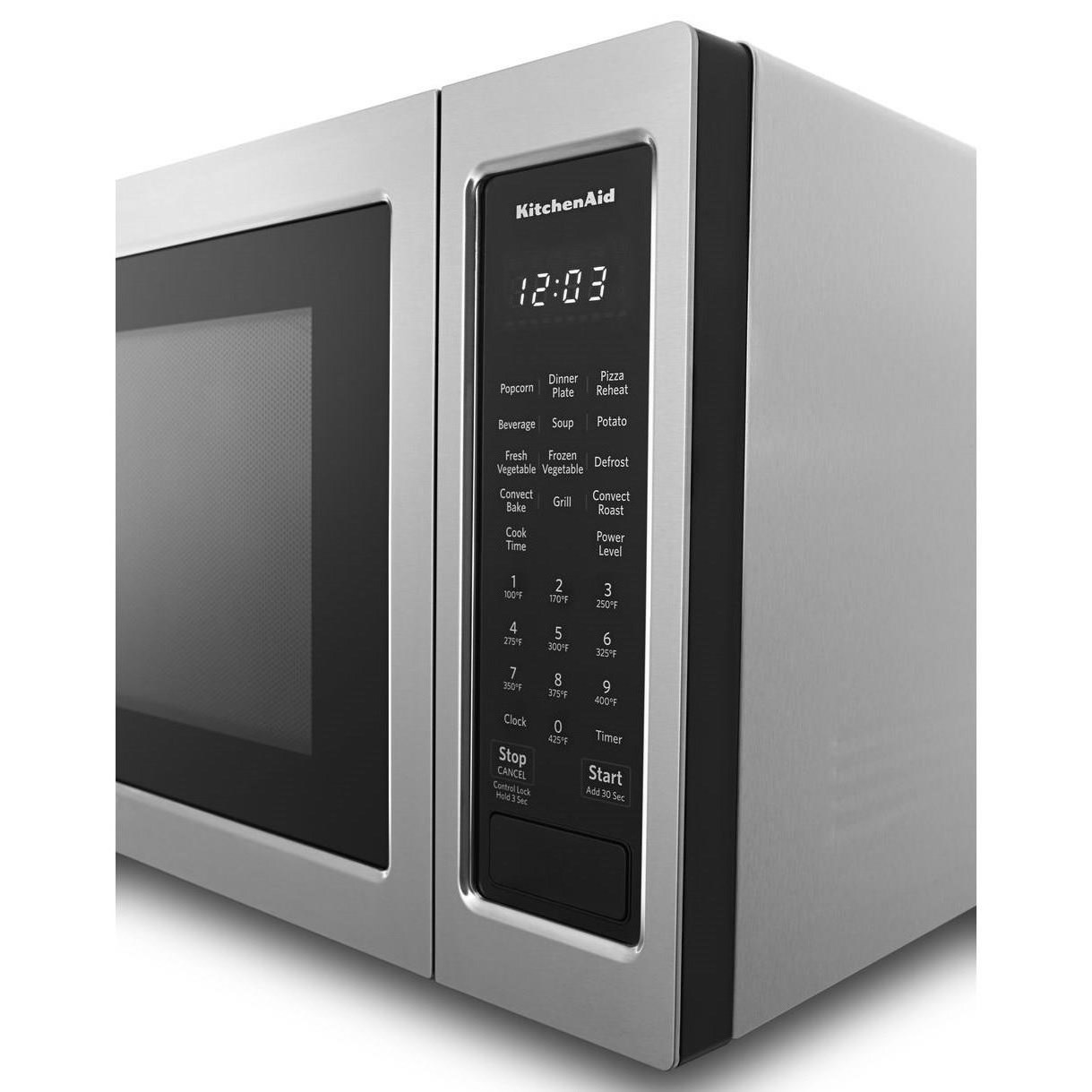 microwaves kitchenaid 21 3 4 countertop convection microwave oven