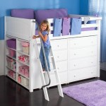 Maxtrix Kong Full Size Loft Bed With Built In Dressers And Shelves Wayside Furniture Loft Bed