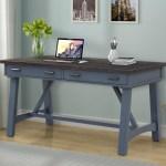 Parker House Americana Modern Transitional 60 Writing Desk Wayside Furniture Table Desks Writing Desks