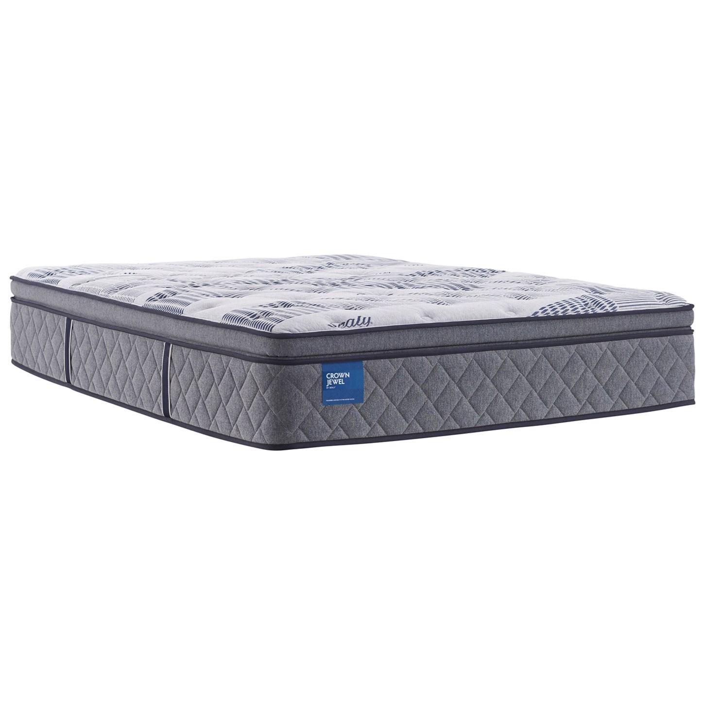 prestwick pillow top queen 14 plush pillow top mattress