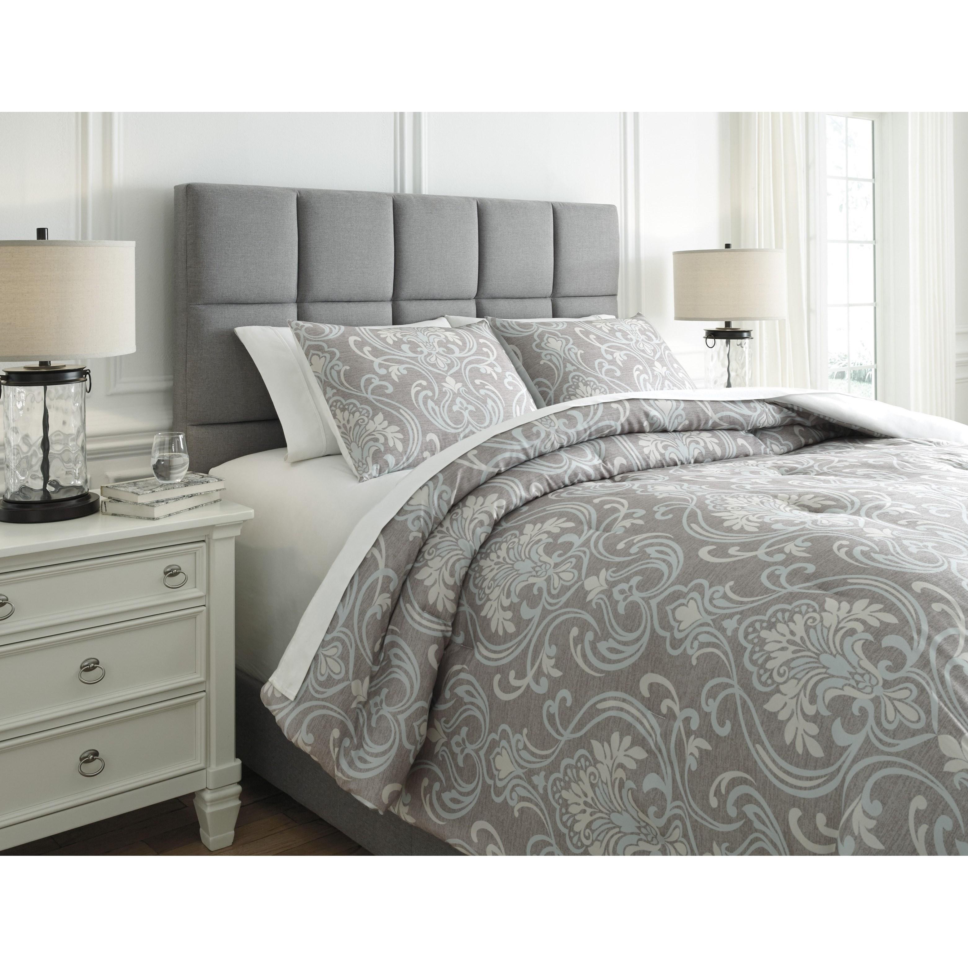 bedding sets queen noel gray tan comforter set