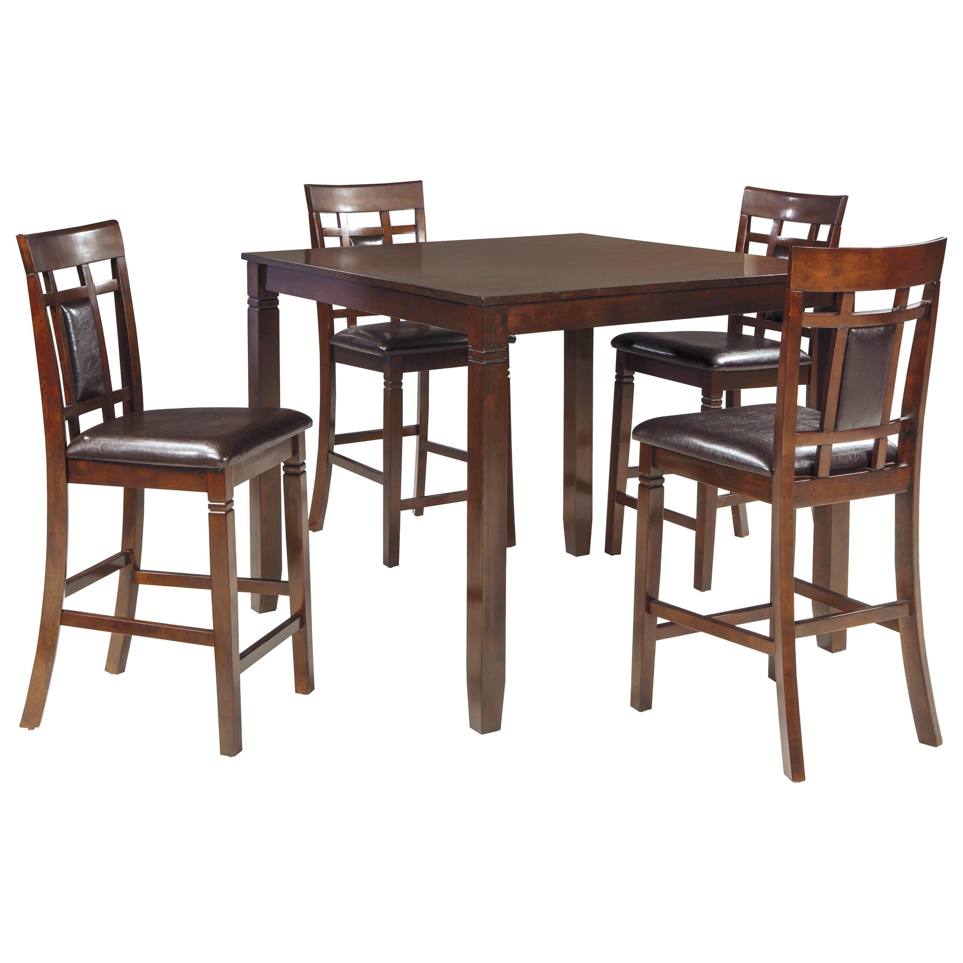 Signature Design By Ashley Bennox Contemporary Signature Design By Ashley Dining Room Counter Table Set